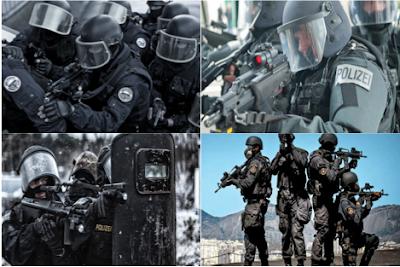 Unités anti terroriste et d'intervention