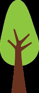 dibujo de árbol para decorar