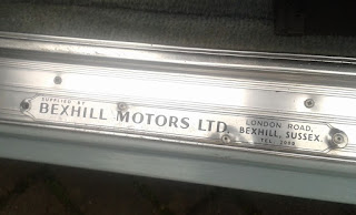 sill plate Bexhill Motors Ltd