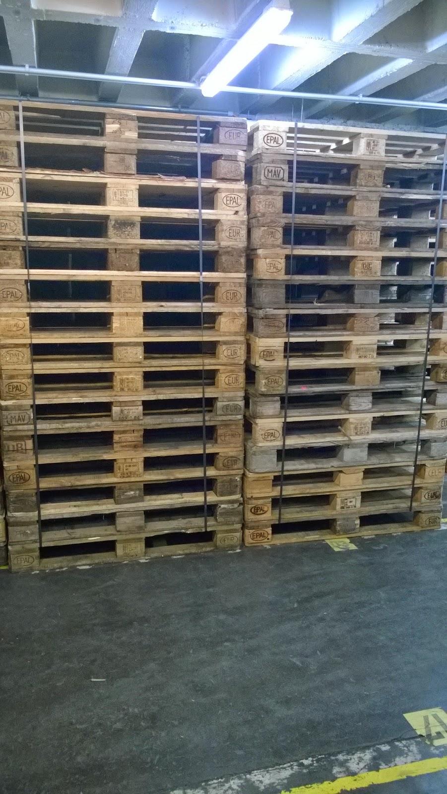 fachkraft für lagerlogistik - fkl: euro paletten - 0,96 quadratmeter