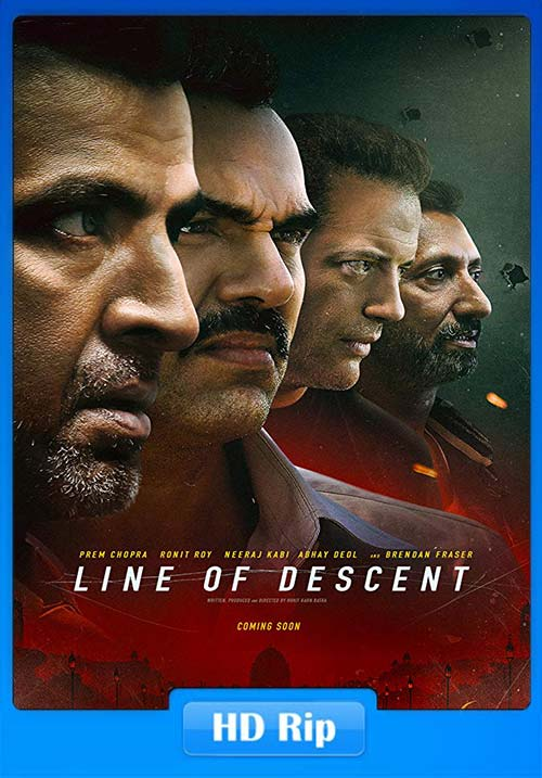 Line of Descent 2019 Hindi Proper 720p HDRip x264 | 480p 300MB | 100MB HEVC