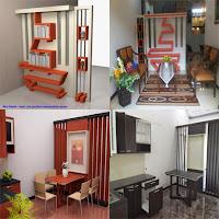Contoh Desain Partisi Sekat Ruangan - Furniture Semarang