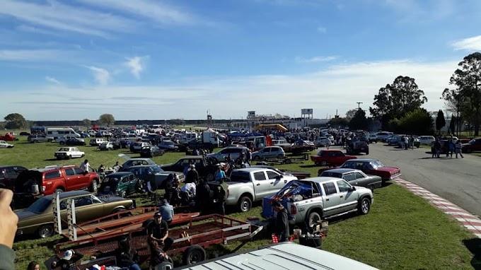 Festival de picadas legales en el autodromo de Mar del Plata
