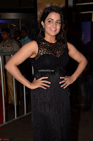 Wamiqa Gabbi in a sleeveless Black Designer Transparent Gown at 64th Jio Filmfare Awards South ~  Exclusive 023.JPG