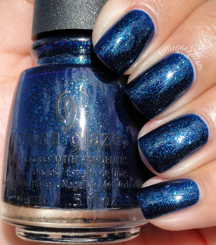 China Glaze Blue-Ya