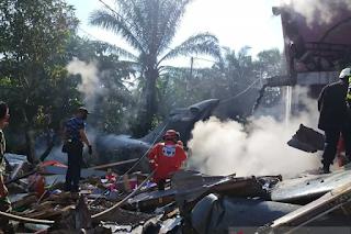 Pilot Hawk TNI AU Selamat