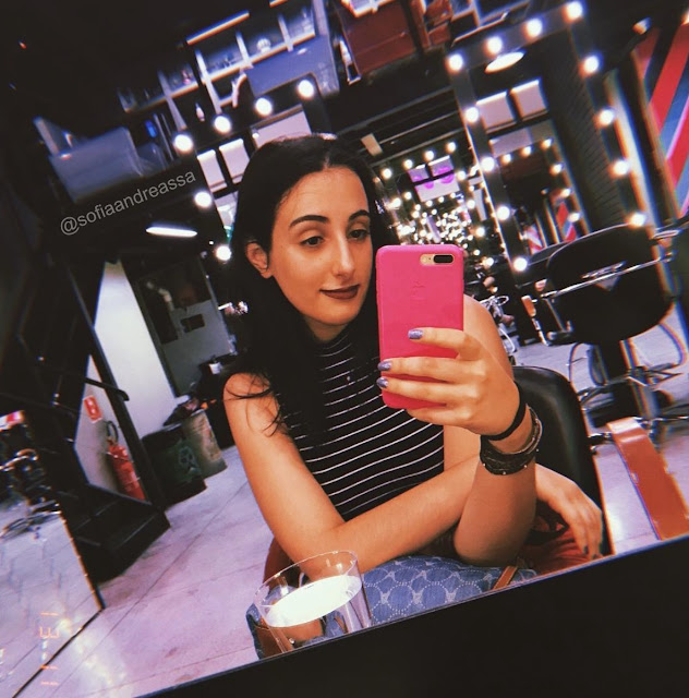 Retrô Hair Avenida Paulista + App HUJI CAM