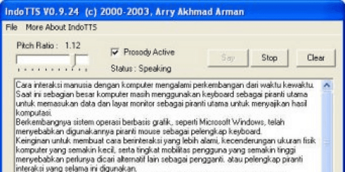 text to speech indonesia software http://indotts.software.informer.com/0.9/