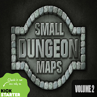 Small Dungeon Maps Vol. 2 Kickstarter is Live