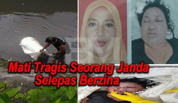 Mati Tragis Seorang Janda Selepas Berzina