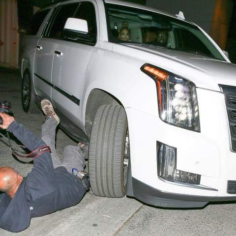 Seguridad y Chofer de Jennifer Lopez atropellan paparazzi intentaba fotografiarla