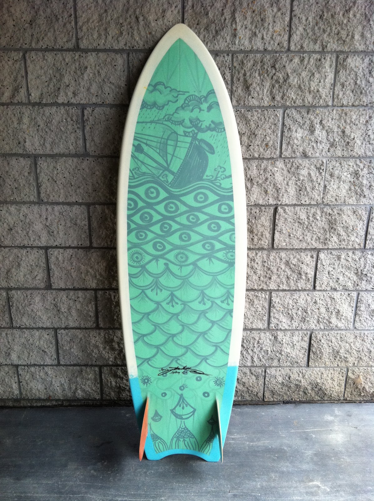 Jake Moss Surfboards: Eco-surfboards