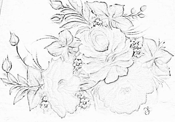 pintura em tecido risco pano de prato
