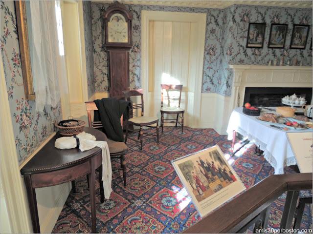 Museo Concord: Habitación Concord Principios del s.XIX