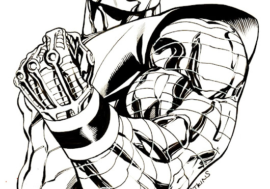 Robert Atkins Art: Daily Sketch: Colossus...