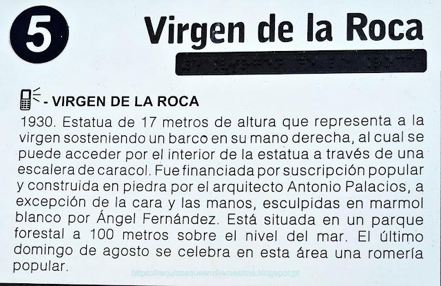 Virgen de la Roca, Baiona