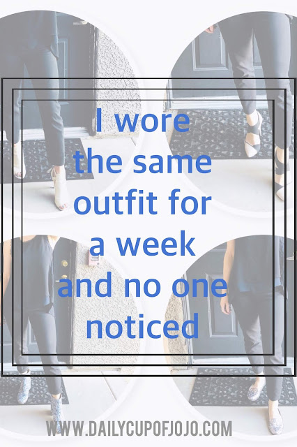 I Wore The Same Outfit For A Week And No One Noticed