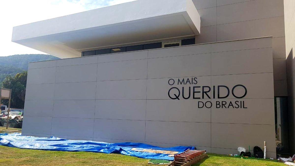 Fachada do novo CT do Flamengo - Foto   PedradaRN   Divulgação 96609211a32c1
