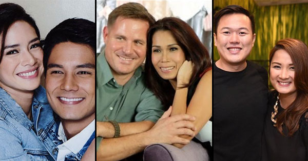 2uxssRJ List Of Pinoy Celebrities Who Are In A Relationship With Foreigners!
