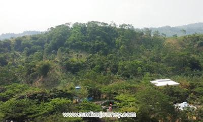 view dari atas bianglala di jungleland sentul