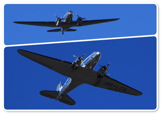 vanhat lentokoneet
