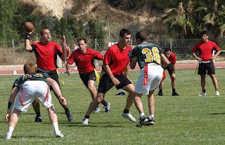 FLAG FOOTBALL - (Spanish Flag Bowl 2010) - Los Valencia Firebats son los nuevos campeones de España