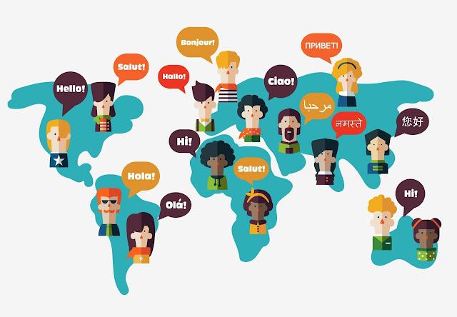 أشهر خمسة لغات حول العالم