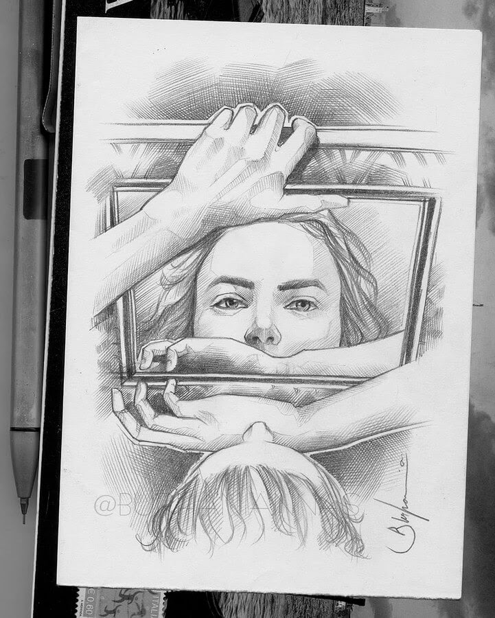 10-A-reflection-of-your-soul-Nas-Pencil-Drawings-www-designstack-co