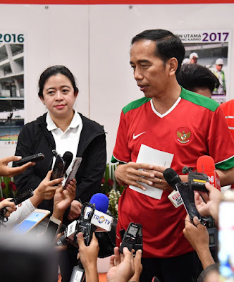 Presiden Resmikan Renovasi SUGBK Jelang Asian Games 2018