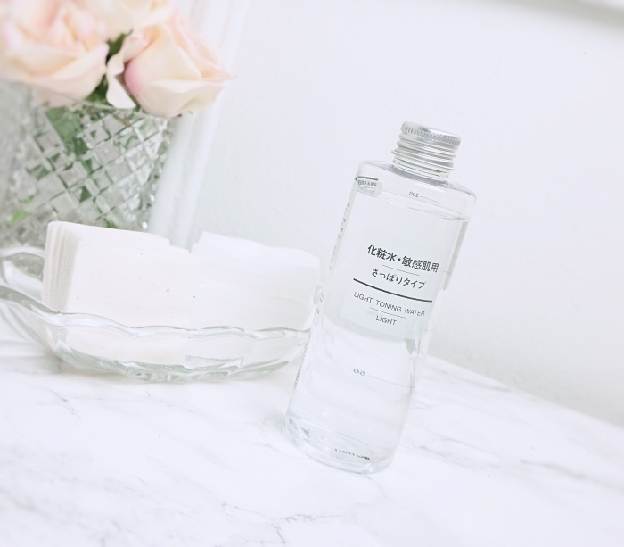 Muji cut cotton toner review