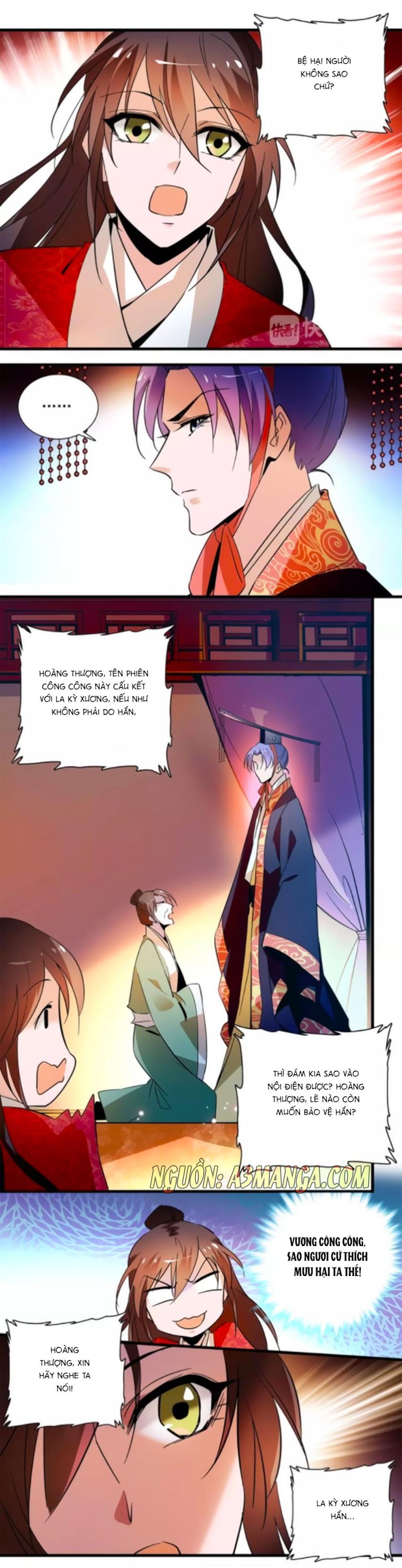 Hoàng Thượng! Hãy Sủng Ái Ta Đi! Chap 71