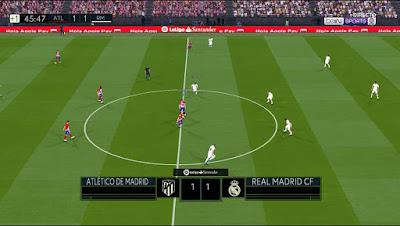 PES 2017 Scoreboard La Liga Santander 2018/2019 by AZ Mods