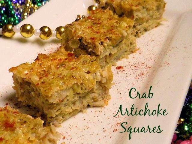 Artichoke Squares 3 Ways