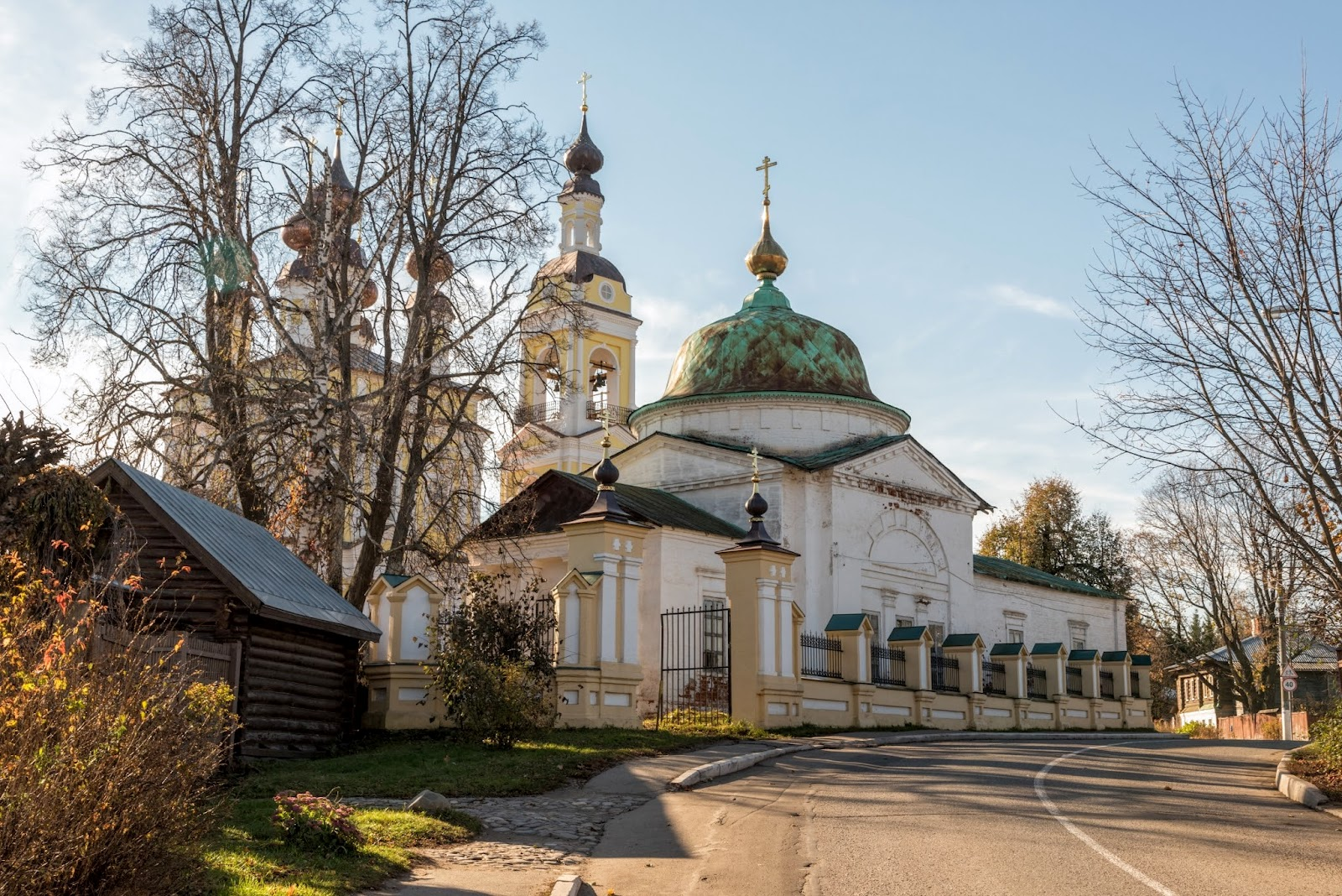 Троицкая церковь. Плес.