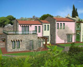 rendering casa vendita imperia appartamento in villa