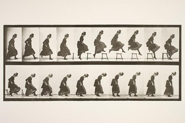 Jumping; running straight high jump, ca. 1884 - 1887