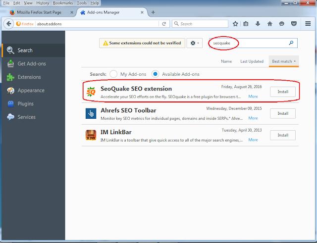 Seo Tool Firefox