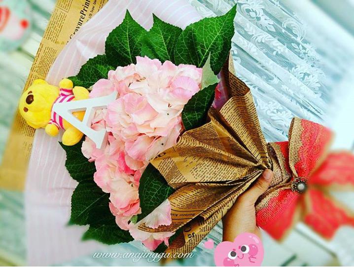 Cara Membuat Bunga Tangan - Hand Bouquet
