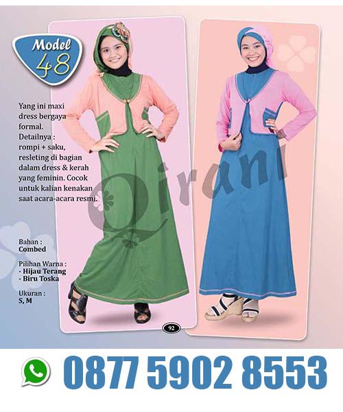 Anda tidak perlu bingung bersama bekal seadanya anda bisa meciptakan bisnis  rumahan Grosir Baju Muslim murah murah harga pabrik. e045c592c2