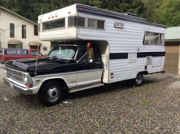 used rvs 1968 caveman rv for sale by owner. Black Bedroom Furniture Sets. Home Design Ideas