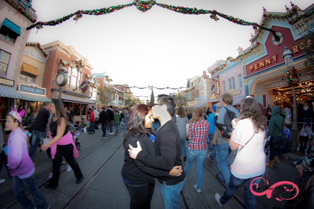 Disneyland Engagement Shoot - Main Street U.S.A.