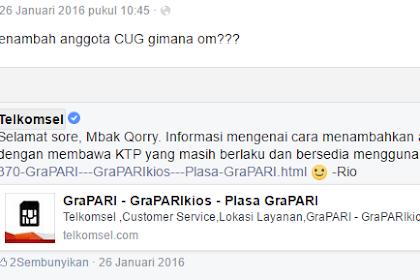 Menambahkan Teman Ke Komunitas CUG Telkomsel