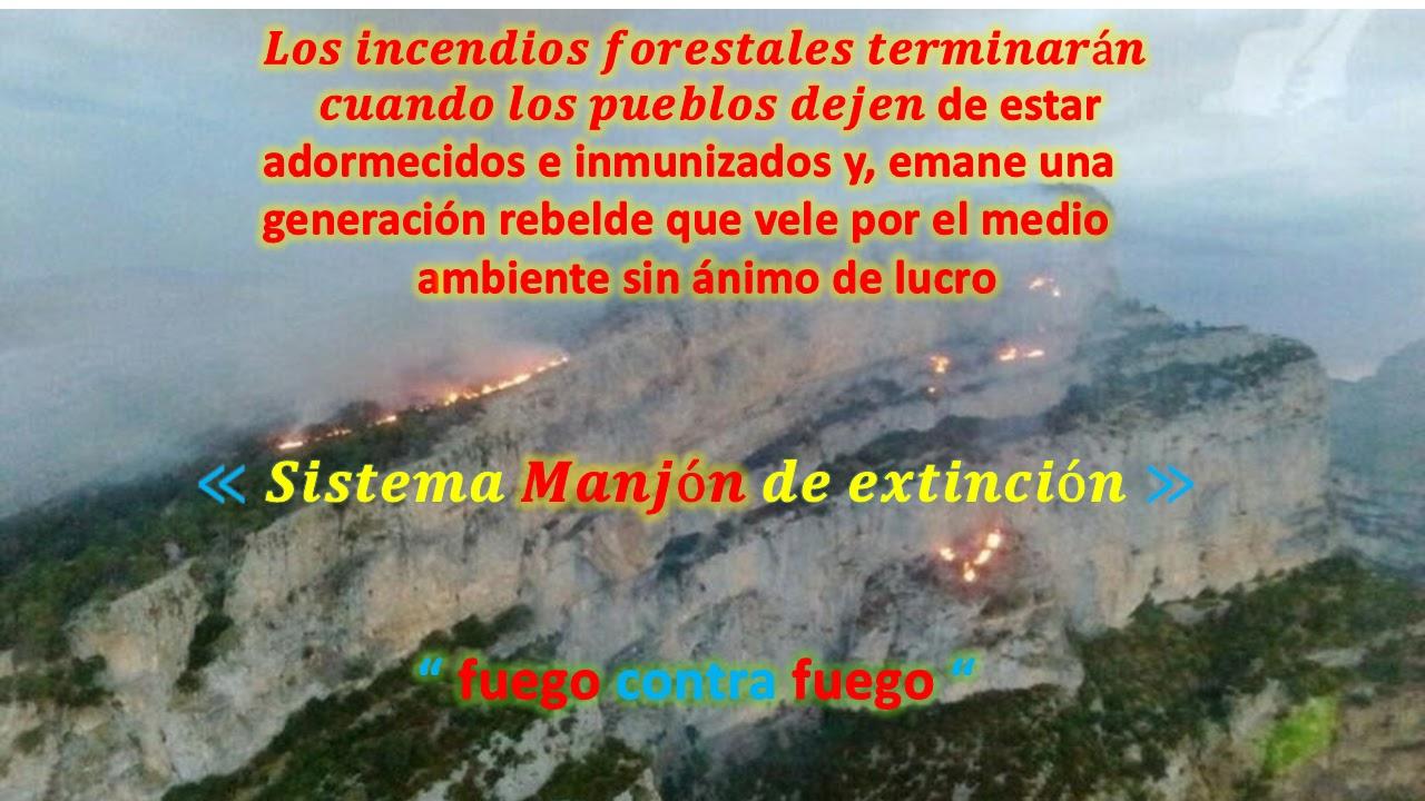 Prevención Y Extinción De Incendios Forestales En Países