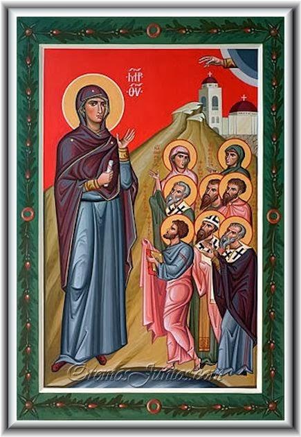 sveti Namfamon, Miggin, Sanama, Lucita in tovariši - mučenci