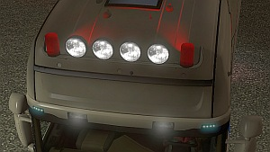 Red Beacon mod for all trucks