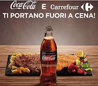 Logo ''Compra Coca-Cola, per te 1 voucher per una cena 2x1'' come premio certo!