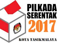 Nomor Urut Peserta Pilkada Kota Tasikmalaya 2017