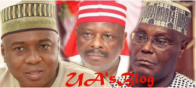 Saraki, Atiku, Kwankwaso Disagree Over Presidential Ticket