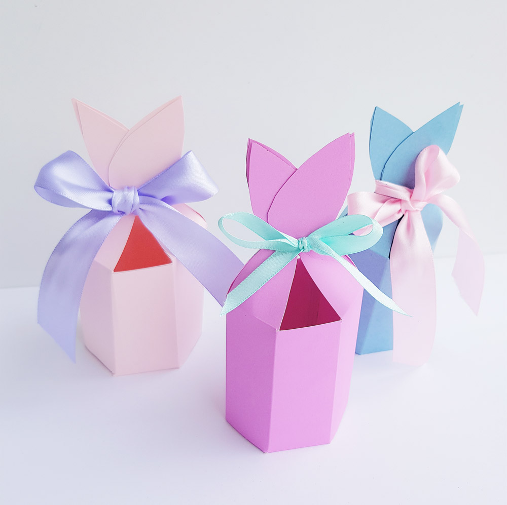Free bunny ears gift box printable for easter now thats peachy happy easter i would love to see your easter bunny box creations negle Images