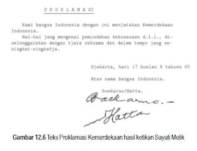 Sejarah Cerita Kronologi Proklamasi Kemerdekaan Indonesia